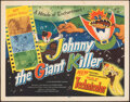 """Movie Posters:Animation, Johnny the Giant Killer & Other Lot (Lippert, 1953). Rolled, Overall: Fine/Very Fine. Half Sheets (2) (22"""" X 28""""). Animation... (Total: 2 Items)"""