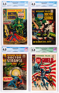 Strange Tales #162-168 CGC-Graded Group (Marvel, 1967-68).... (Total: 7 Comic Books)