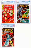Silver Age (1956-1969):Superhero, Fantastic Four #72, 74, and 75 Group (Marvel, 1968).... (Total: 3 Comic Books)