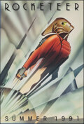 """Movie Posters:Action, The Rocketeer (Walt Disney Pictures, 1991). Rolled, Very Fine-. One Sheet (27"""" X 40"""") DS Advance, John Mattos Artwork. Actio..."""
