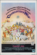 "Movie Posters:Animation, Charlotte's Web (Paramount, 1973). Folded, Very Fine. One Sheet (27"" X 41""). Animation.. ..."