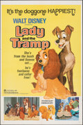 "Movie Posters:Animation, Lady and the Tramp & Other Lot (Buena Vista, R-1972). Folded, Very Fine-. One Sheets (2) (27"" X 41""). Animation.. ... (Total: 2 Items)"