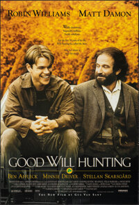 "Good Will Hunting & Other Lot (Miramax, 1997). Rolled, Overall: Very Fine-. One Sheets (3) (27"" X 40"") SS..."