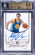 Basketball Cards:Singles (1980-Now), 2012-13 Panini Flawless Klay Thomson (Rookie Autographs-Ruby) #17 BGS Gem Mint 9.5, Auto 10 - #'d 15/15....