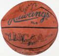 Basketball Collectibles:Balls, Early 1990s UNLV Runnin' Rebels Multi-Signed Basketball....