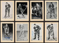 Autographs:Sports Cards, Signed 1944 - 1963 Bee Hive Hockey Photos (Group Two) Toronto Maple Leafs (45). ...
