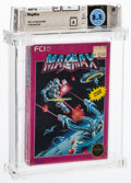 Video Games:Nintendo, MagMax - Wata 8.5 A Sealed [Rev-A, Round SOQ], NES FCI 1988 USA. ...