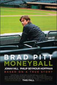 """Moneyball & Other Lot (Columbia, 2011). Rolled, Very Fine+. One Sheets (2) (27"""" X 40"""") DS Advance. Sports..."""