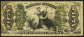 Fractional Currency:Third Issue, Fr. 1366 50¢ Third Issue Justice Very Good-Fine.. ...