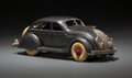 Collectible, Hubley Manufacturing Company Cast Iron Light-Up 1934 Chrysler Airflow Toy Automobile. Marks: HUBLEY MFG. CO., ...