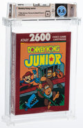 Video Games:Atari, Donkey Kong Junior - Wata 8.0 A Sealed [Red Box], 2600 Atari 1988 USA. ...