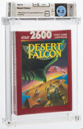 Video Games:Atari, Desert Falcon - Wata 9.2 A++ Sealed, 2600 Atari 1987 USA. ...