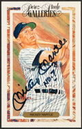 Autographs:Post Cards, 1990 Mickey Mantle Signed Perez Steele Postcard....