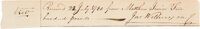 Declaration Signer John Witherspoon Autograph Document Signed