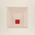 Prints & Multiples, Josef Albers (1888-1976). Mitered Squares, 1976. The complete set of 12 screenprints in colors, on Arches 88 paper. 19 x...