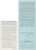 Football Collectibles:Others, 1972 Ray Nitschke Signed Final Green Bay Packers Player's Contract....