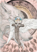 Original Comic Art:Covers, Michael Kaluta Lucifer #6...