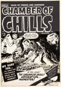 Original Comic Art:Covers, Lee Elias Chamber of Chills ...