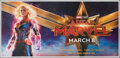 "Movie Posters:Action, Captain Marvel (Walt Disney Studios, 2019). Rolled, Very Fine+. Indian Six Sheet (53"" X 111""). Action.. ..."