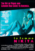 """Movie Posters:Crime, La Femme Nikita & Other Lot (Samuel Goldwyn, 1991). Rolled, Very Fine. One Sheets (2) (27"""" X 39.75"""" & 27"""" X 40"""") SS, Lisa Po... (Total: 2 Items)"""
