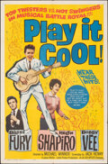 "Movie Posters:Rock and Roll, Play It Cool (Allied Artists, 1963). Folded, Very Fine. One Sheet (27"" X 41""). Rock and Roll.. ..."