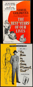"""Movie Posters:Academy Award Winners, The Best Years of Our Lives & Other Lot (RKO, R-1954). Fine/Very Fine. Uncut Pressbooks (2) (Multiple Pages, 12"""" X 18"""" & 14""""... (Total: 2 Items)"""