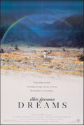 """Movie Posters:Foreign, Akira Kurosawa's Dreams (Warner Bros., 1990). Folded, Very Fine. One Sheet (27"""" X 40.5"""") SS. Foreign.. ..."""