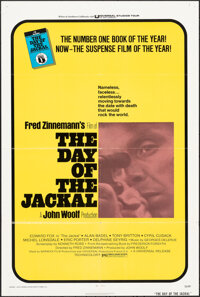 "The Day of the Jackal & Other Lot (Universal, 1973). Folded, Overall: Very Fine. One Sheets (5) (27"" X 41""..."