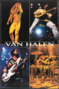 """Movie Posters:Rock and Roll, Van Halen (Warner Bros. Records, 1993). Rolled, Fine/Very Fine. Personality Poster (24"""" X 36""""). Rock and Roll.. ..."""