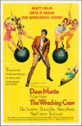 """Movie Posters:Action, The Wrecking Crew (Columbia, 1969). Folded, Very Fine. One Sheet (27"""" X 41"""") Robert McGinnis Artwork. Action.. ..."""