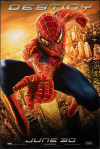 "Spider-Man 2 (Columbia, 2004). Rolled, Very Fine. One Sheet (26.75"" X 39.75"") DS Advance. Action"