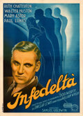 Movie Posters:Drama, Dodsworth (United Artists, 1938). Very Fine on Linen.