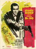 Movie Posters:James Bond, Dr. No (United Artists, 1962). Very Fine on Linen....