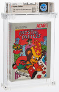 Video Games:Atari, Crystal Castles - Wata 9.4 A++ Sealed [1987 Silver Box], 2600 Atari 1983 USA. ...