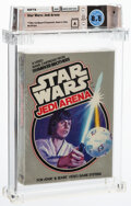 Video Games:Atari, Star Wars Jedi Arena - Wata 8.5 A Sealed, 2600 Parker Brothers 1983 USA. ...