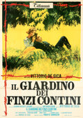 Movie Posters:Foreign, The Garden of the Finzi-Continis (Titanus Distributors, 19...