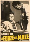 Movie Posters:Film Noir, Force of Evil (Union Film, 1950). Very Fine- on Linen....