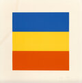 Prints & Multiples, Ellsworth Kelly (American, 1923-2015). Blue/Red/Yellow, 1992. Lithograph in colors on Rives BFK paper. 26 x 25-1/2 inche...
