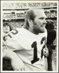 Football Collectibles:Photos, 1970s Terry Bradshaw Original Photograph By Malcolm Emmons....