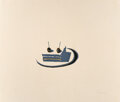 Prints & Multiples, Wayne Thiebaud (b. 1920). Sandwich, from Seven Still Lifes and a Rabbit, 1970. Linocut in colors on Arches paper. 22...