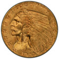 1929 $2 1/2 MS63 PCGS. CAC. PCGS Population: (4581/2337 and 80/177+). NGC Census: (6364/3125 and 58/92+). CDN: $480 Whsl...