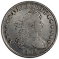 Early Dollars, 1802/1 $1 Wide Date, B-2, BB-233, R.4 -- Repaired -- PCGS Genuine. Fine Details....