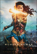 "Movie Posters:Action, Wonder Woman (Warner Bros., 2017). Rolled, Very Fine/Near Mint. Bus Shelter (48"" X 70"") Advance. Action.. ..."