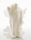 Collectible, Daniel Arsham (b. 1980). Hollow Figure, 2018. Cast resin. 11 x 12-1/4 x 12-1/2 inches (27.9 x 31.1 x 31.8 cm). Ed. 97/50...