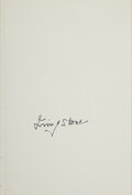 Books:Signed Editions, Irving Stone Signed Limited Edition of The Agony and the Ecstasy. ...
