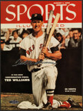 Autographs:Photos, Ted Williams Signed Sports Illustrated Cover UDA Photograph....