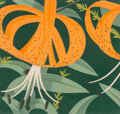 Prints & Multiples, Alex Katz (b. 1927). Superb Lilies, 1972. Lithograph in colors on Arches paper. 19 x 20 inches (48.3 x 50.8 cm) (sheet)...