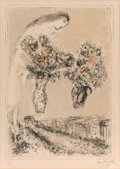 Prints & Multiples, Marc Chagall (1887-1985). L'Arc de Triomphe, 1976. Lithograph in colors on wove paper. 31-1/2 x 22-3/8 inches (80 x 56.8...