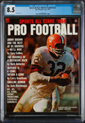 Football Collectibles:Publications, 1964 Sports All Stars Jim Brown Cover - CGC 8.5...
