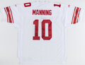 Autographs:Jerseys, Eli Manning Signed Jersey With 2007 Inscription....